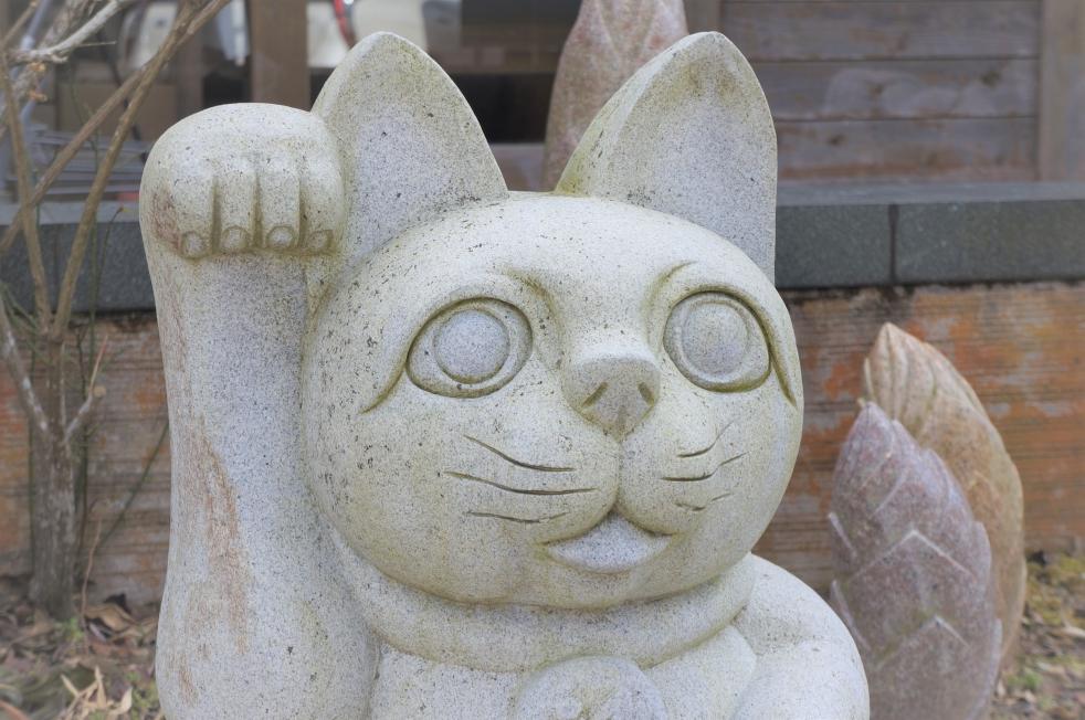 道の駅鹿北・小栗郷 招き猫