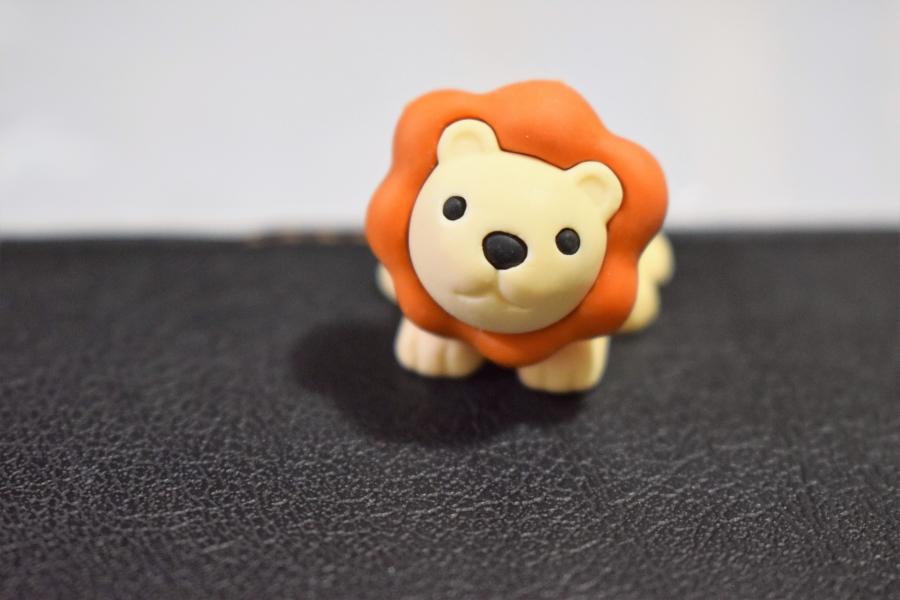 おもしろけしごむ動物園2 ライオン