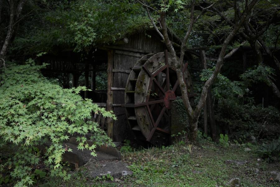 鯛生金山 水車小屋