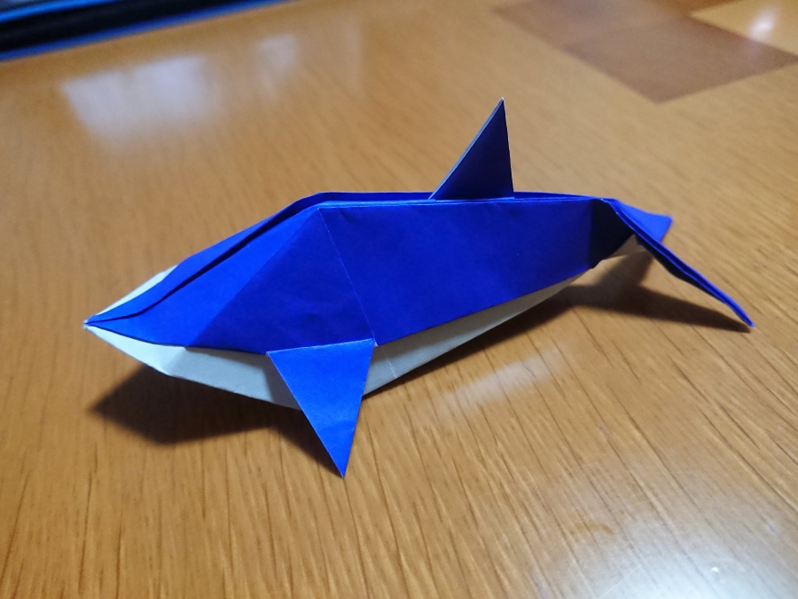 折り紙 イルカ