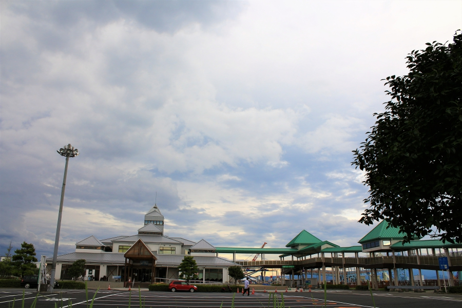 熊本港 西玄関